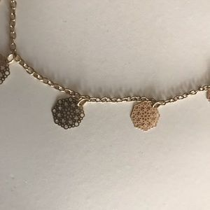 Accessories - 2 dainty gold chokers
